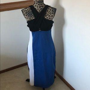 Bebe cross strap dress